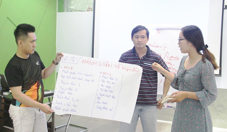 Một số nhóm đề cập đến chủ đề toàn cầu hóa, hành trình kết nối, tôn vinh cá nhân, hành quân về nguồn...