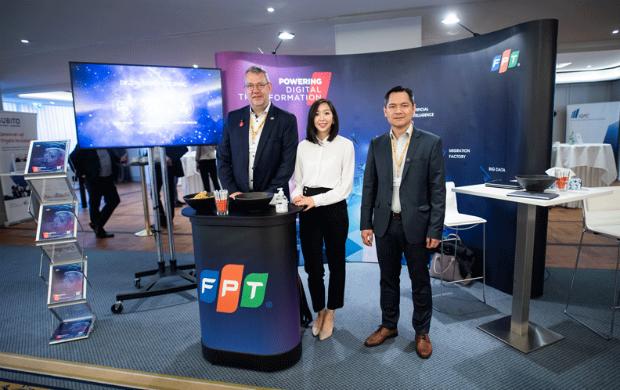 Đại diện FPT tham dự diễn đàn EVU Prozess & IT Tage 2019.