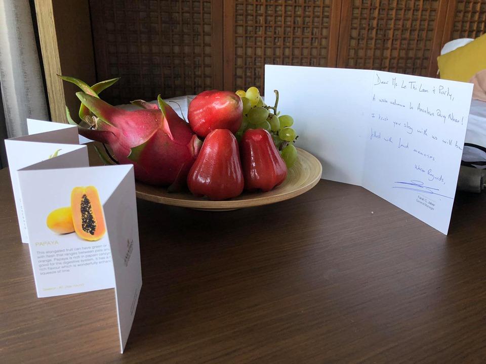 Trong phòng còn phục vụ hoa quả tươi cho các CBNV FPT Software giải nhiệt mùa hè.