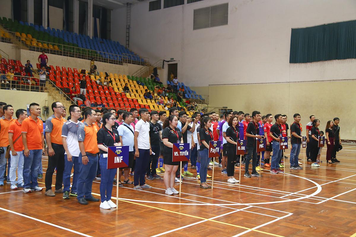 Mùa giải năm nay có sự tham gia của 8 đội bóng, gồm: Truyền hình FPT (PayTV), Viễn thông Quốc tế (FTI), Liên quân TT Quản lý cước (CUS) và TT Chăm sóc khách hàng (CS), Phương Nam (PNC), TT Phát triển hạ tầng miền Nam (INF), Liên quân HO Tân Thuận, Ban quản lý Vùng 5 và tuyển Vùng 5.Các đội có tối đa 20 cầu thủ và đăng ký 15 cầu thủ/trận đấu.