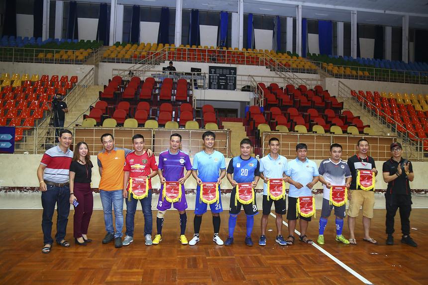 Các trận đấu của giải sẽ được tổ chức tại nhà thi đấu Tân Bình (448 Hoàng Văn Thụ, phường 4, quận Tân Bình). Đây là lần đầu tiên Futsal FPT Telecom HCM tổ chức ở sân bóng đá trong nhà sau nhiều năm sử dụng sân cỏ nhân tạo.
