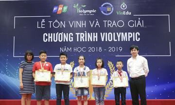 FPT vinh danh 1.900 thí sinh đạt giải ViOlympic 2018-2019