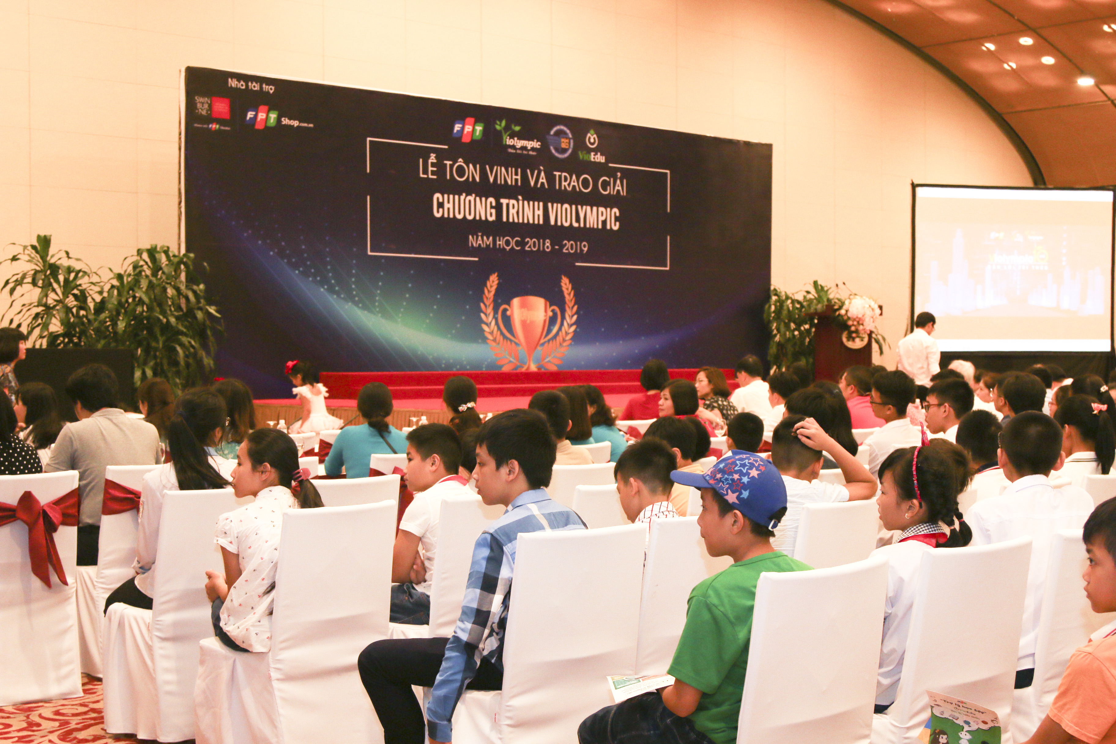 Năm học 2018 – 2019, toàn quốc có hơn 10.000 học sinh đến từ 48 tỉnh thành tham gia vòng quốc gia cuộc thi ViOlympic. Đã có 2.154 học sinh đạt giải ở cả 3 bộ môn: Toán tiếng Anh, Toán tiếng Việt và Vật lý. trong đó có 218 giải vàng, 326 giải bạc, 549 giải đồng và 1.061 giải khuyến khích. Các địa phương có thành tích tốt nhất, tính trên số lượng thí sinh có giải và điểm số cao nhất từng khối lớp, là Hà Nội, Phú Thọ, Ninh Bình, Nam Định, Thái Bình, Hải Dương, Vũng Tàu…