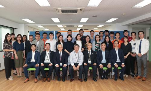 Lãnh đạo tập đoàn khánh thành trường Nhật ngữ FPT