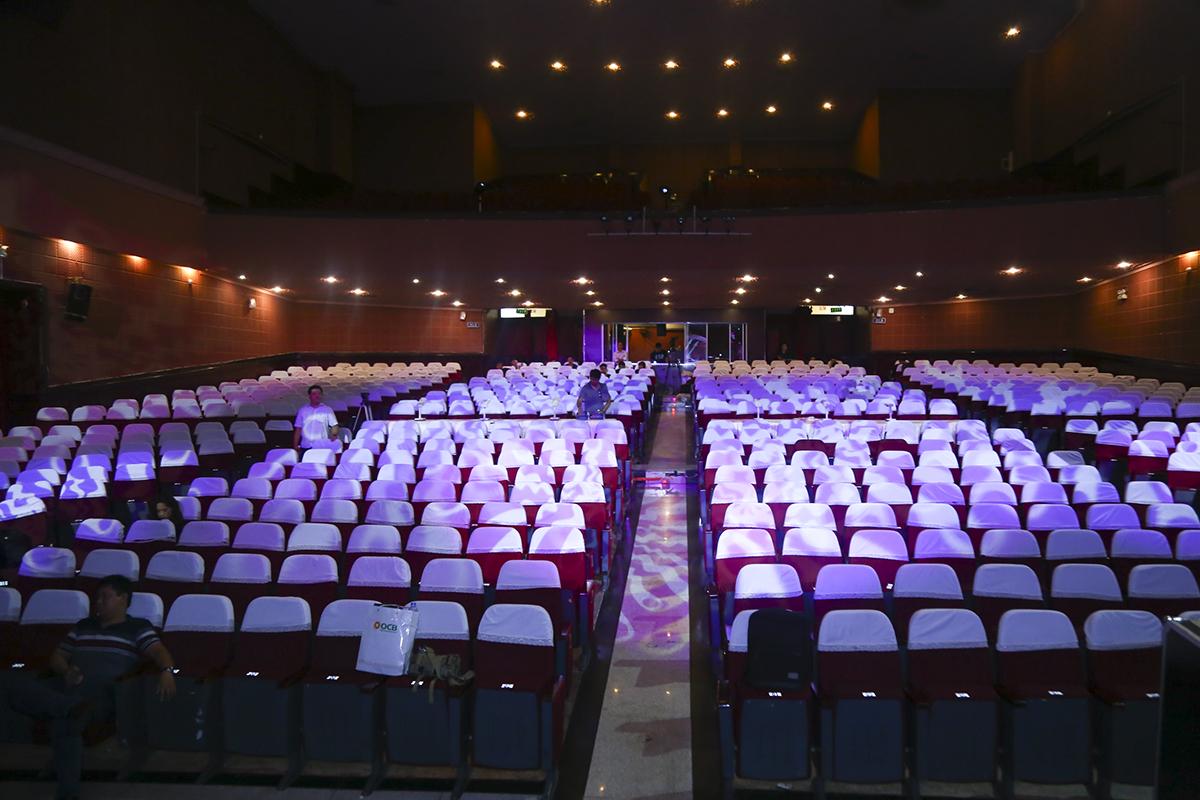 Sân khấu Sao Chổi 2019 ở nhà hát Bến Thành với sức chứa 1.041 chỗ ngồi đã sẵn sàng đón tiếp những khán giả nhà F.