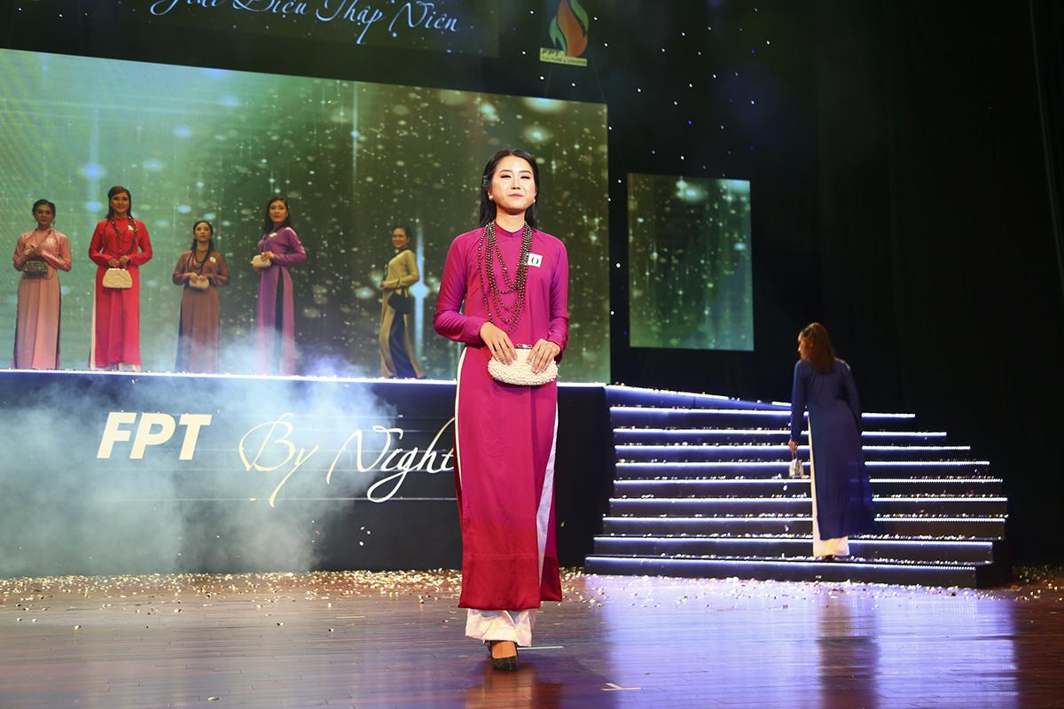 Thí sinh Trần Tạ Kim Ming là nữ nhân viên xinh đẹp của nhà Phần mềm.