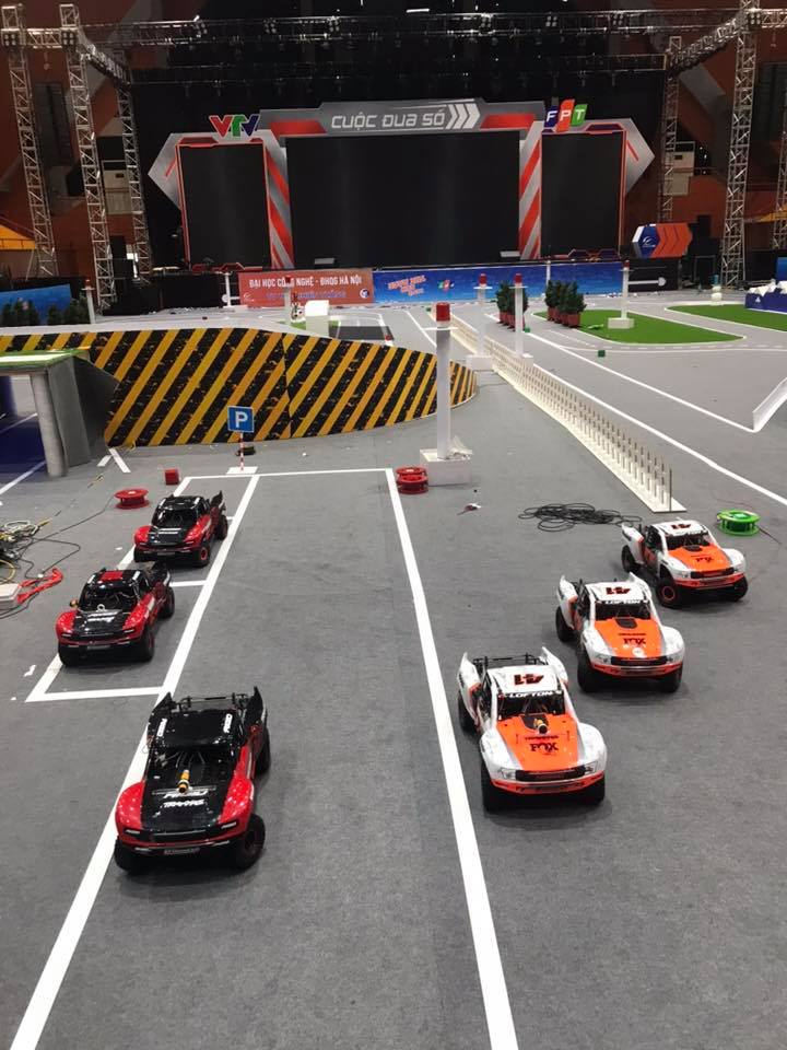 Đội hình 'siêu xe' trong Cuộc đua số mùa 3 được thay đổi giao diện bắt mắt hơn so với phiên bản 2019.