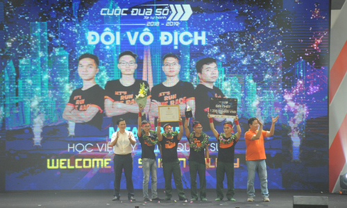 Học viện Kỹ thuật Quân sự Vô địch Cuộc đua số mùa 3