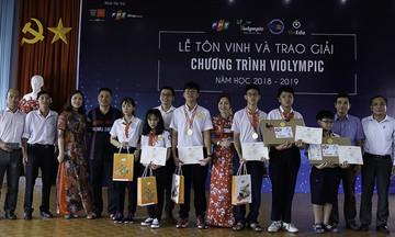 'Nhà trường và phụ huynh tạo mọi điều kiện cho học sinh thi ViOlympic'