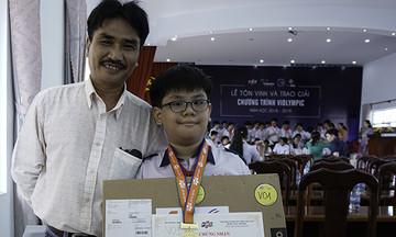 'ViOlympic giúp mở mang tri thức phù hợp lứa tuổi'