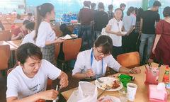 Canteen FPT Massda xuống cấp trầm trọng