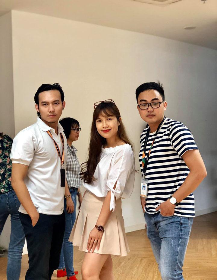 Những gương mặt quen thuộc như Lan Anh hay Đức Sinh... đều tham gia đội hình dự thi của FPT Software Đà Nẵng.