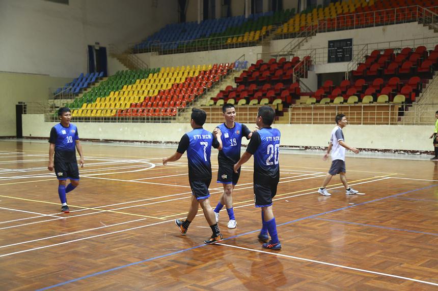 Phút 28, cầu thủ số 7 Tùng Khôi ghi bàn ấn định chiến thắng 4-0 cho FTI, qua đó giúp FTI trở thành đội bóng đầu tiên ghi tên vào bán kết của giải với tư cách nhì bảng B.