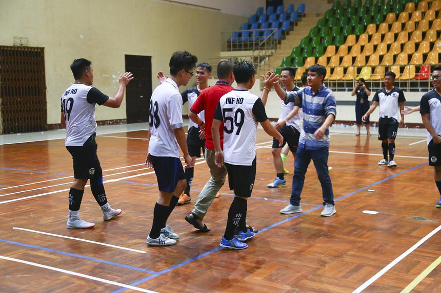 Với kết quả này, INF HO giành ngôi đầu bảng với 7 điểm và sẽ gặp FTI, còn PNC nhì bảng A sẽ gặp Liên quân HO Tân Thuận (nhất bảng B) trong hai trận bán kết của giải.