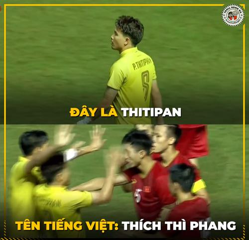 Thay vì bàn luận về những pha ghi bàn đẹp mắt, cư dân mạng bức xúc chụp lại các hành động xấu xí của Thái Lan trong trận đấu.