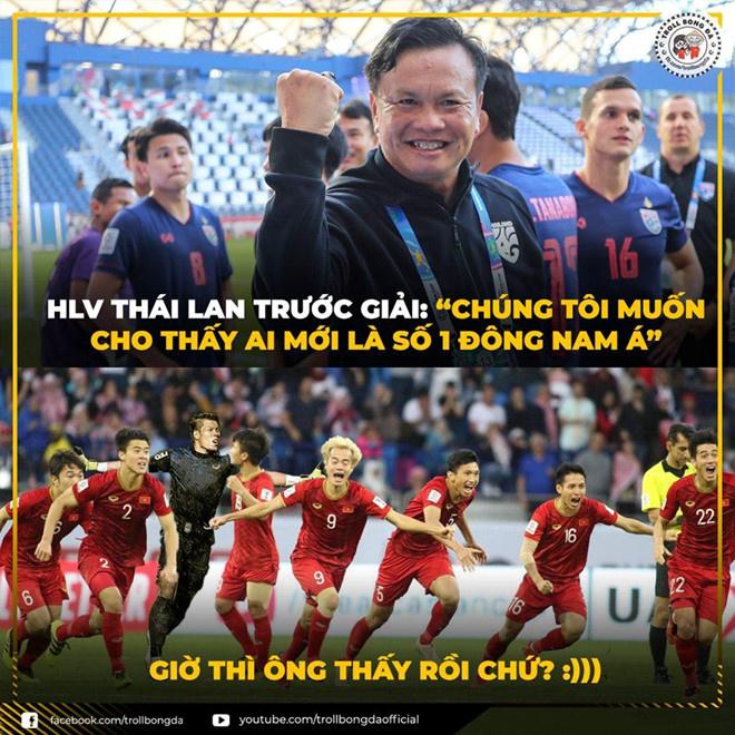 """Người Thái không còn là """"ông kẹ"""" trong mỗi lần đối đầu với tuyển Việt Nam."""