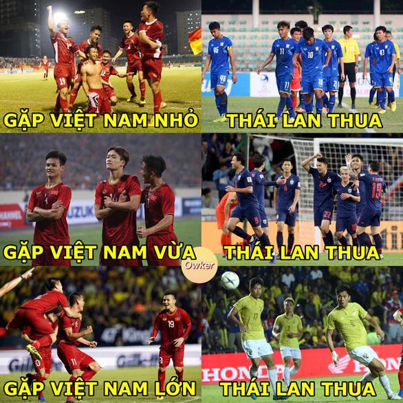 Nguyên do Thái Lan nổi nóng vì dạo này có thể bạn ấy bị tổn thương khi liên tiếp thua Việt Nam ở nhiều cấp độ đội tuyển.