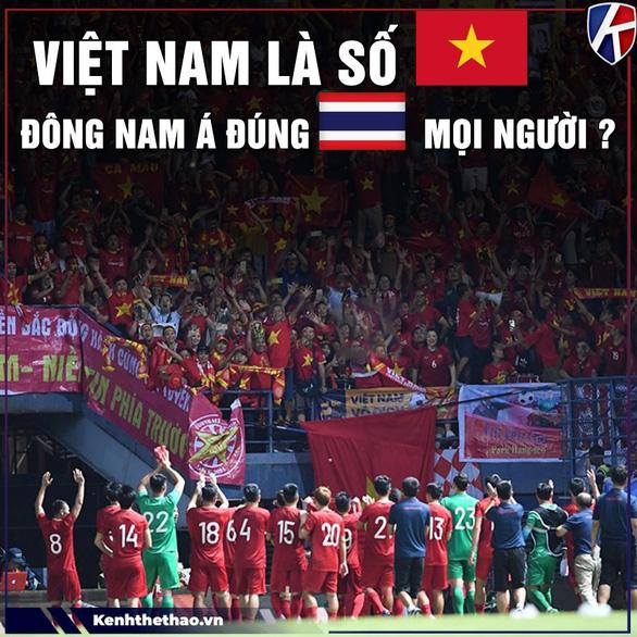 Việt Nam số 1 Đông Nam Á đúng không cả nhà?
