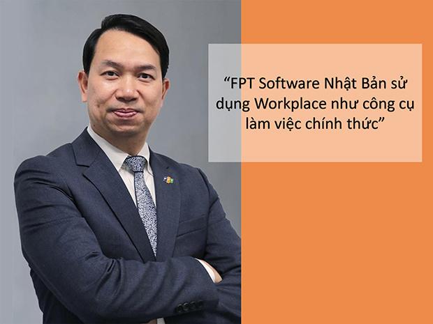 FPT Japan là đơn vị tiên phong trong việc ứng dụng Workplace vào công việc. Trong thời gian tới, nhà F tại Nhật Bản sẽ điều chỉnh một số tính năng của công cụ này để phù hợp với công ty khác trên thị trường Nhật, anh Nguyễn Việt Vương, CEO FPT Nhật Bản cho hay.