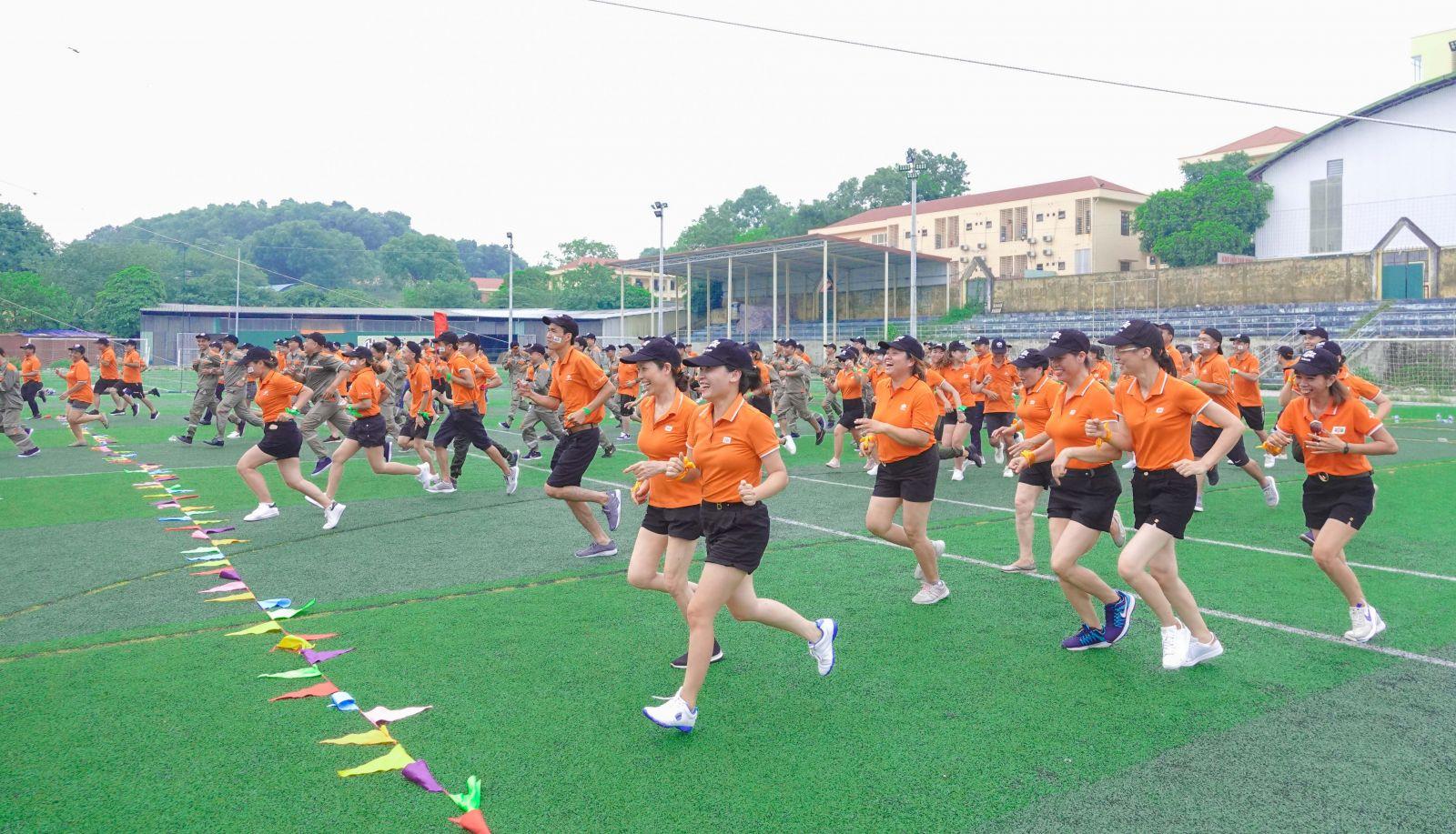 Chương trình được tổ chức tại sân vận động Suối Hoa, TP. Bắc Ninh.