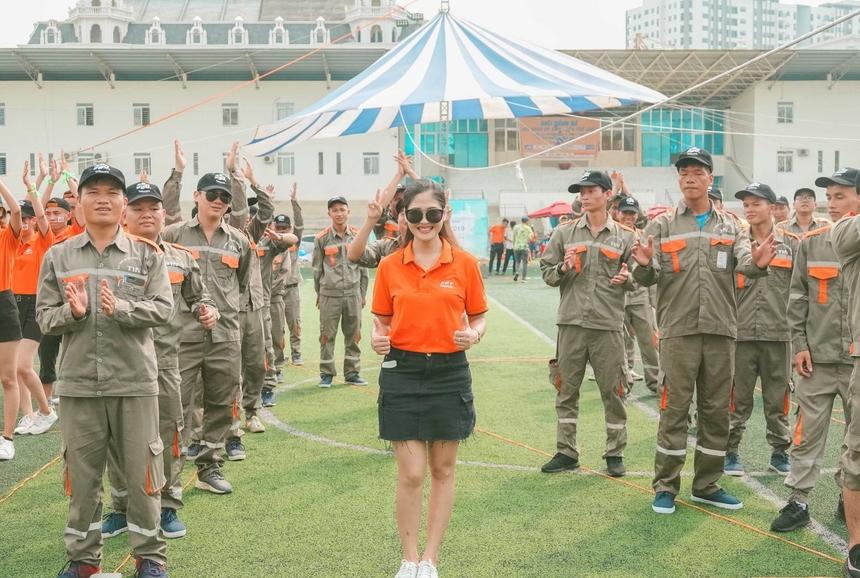 Thời tiết tại Bắc Ninh khá nóng nhưng anh em chi nhánh vẫn nhiệt tinh tham gia các hoạt động trong lễ kỉ niệm. Đây là cơ hội hiếm để anh em gặp gỡ đông đủ và trò chuyện với nhau.