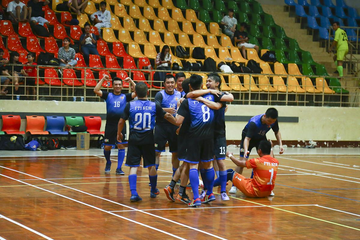 Thắng lợi 3-1 đưa FTI vào chung kết để chạm trán với đội thắng trong cặp bán kết giữa PNC và Liên quân HO Tân Thuận diễn ra ngay sau đó. Còn INF HO đành chấp nhận chơi trận tranh hạng 3.