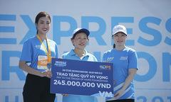 VĐV VnExpress Marathon góp 245 triệu đồng xây trường cho trẻ vùng cao