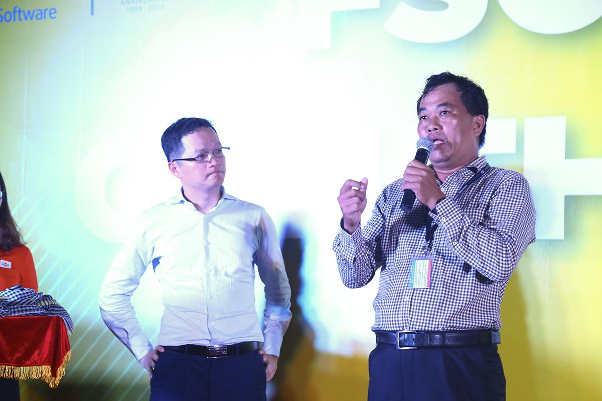 Chia sẻ với tâm tư của anh Trần Đăng Hòa, anh Hùng cho biết mong mỏi của anh lúc này không gì hơn là FPT Software Cần Thơ sẽ có đủ các bộ phận, tăng thêm nhân sự, trở thành một pháp nhân độc lập như những gì FPT Software HCM đã có.