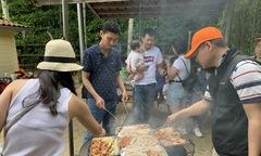 Người FPT ở Đức quây quần nướng BBQ trong ngày gia đình