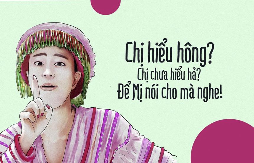 """Câu chủ đề trong ca khúc mới của Hoàng Thùy Linh là câu trả lời thỏa đáng nhất cho trào lưu """"Chị hiểu hông"""". """"Ai chưa hiểu thì để Mị nói cho mà nghe! Còn nếu muốn hiểu hơn nữa thì mời lên mạng tìm hiểu tiếp""""."""