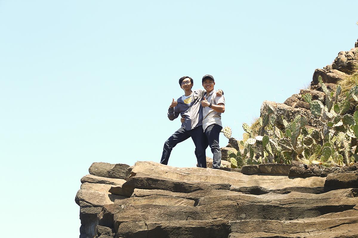 Hai ngày cuối của chương trình dã ngoại, đoàn di chuyển đến tỉnh Phú Yên, cùng tham quan các danh thắng như: Gành Đá Đĩa, mũi Điện, hải đẳng, hải đăng Đại Lãnh, vịnh Vũng Rô,...
