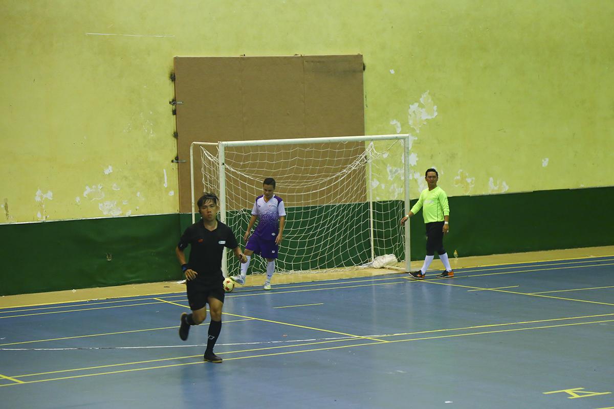 Phút 38, cầu thủ vào sân thay người Hoàng Văn Mạnh khép lại trận thắng giòn giã cho FPT Telecom bằng bàn ấn định tỷ số 5-2.