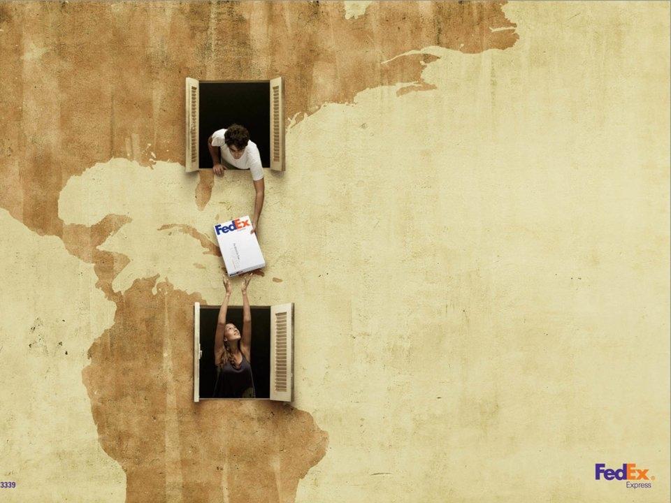 Hãng vận chuyển FedEx muốn gửi đi thông điệp họ có thể giao hàng trên khắp thế giới, như hàng xóm của bạn vậy.
