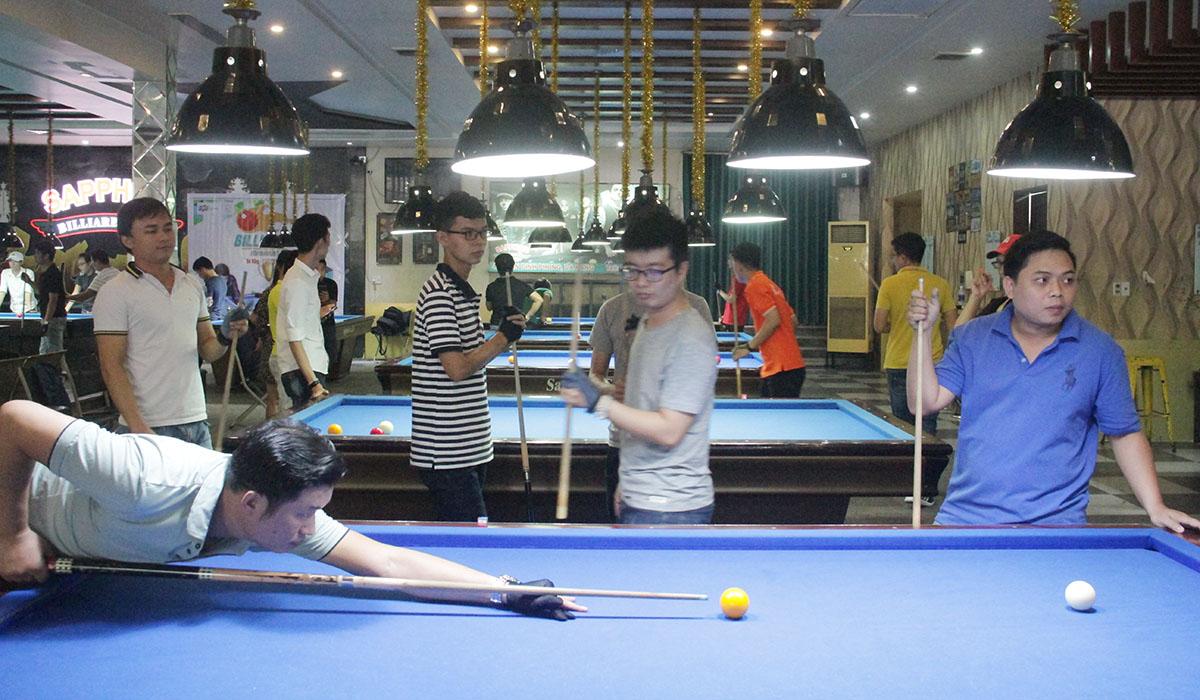 Billiard Tournament 2019 chỉ tranh tài nội dung băng tự do. Cơ thủ bốc thăm để xác định đối thủ, sau đó thi đấu vòng loại.