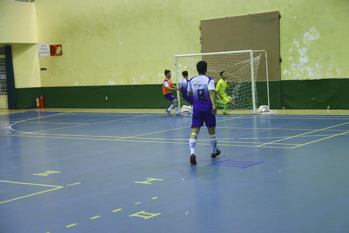 Đây có thể xem là một trong những bàn thắng kỹ thuật và đẹp mắt nhất vòng bảng Futsal FPT HCM năm nay.