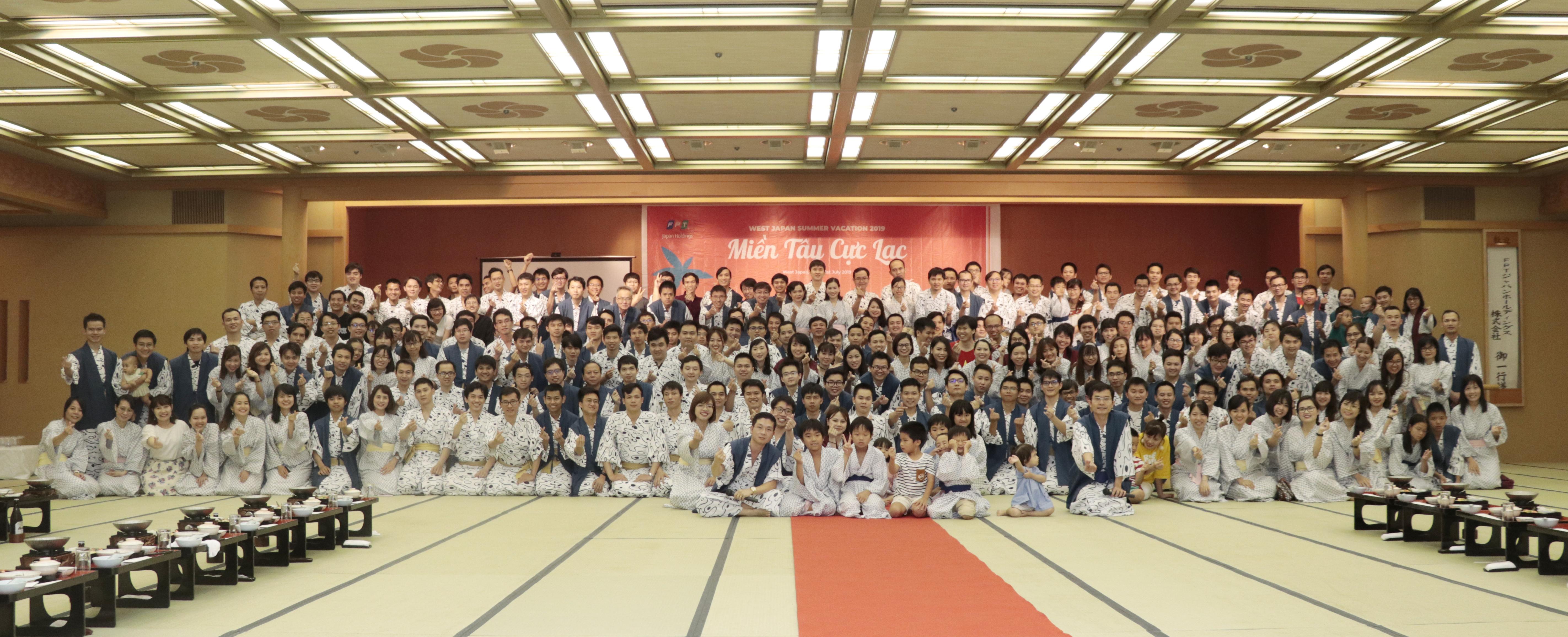 Du lịch hè 2019 của người FPT Japan khu vực phía Tây Nhật Bản (West Japan) diễn ra trong hai ngày 20-21/7.