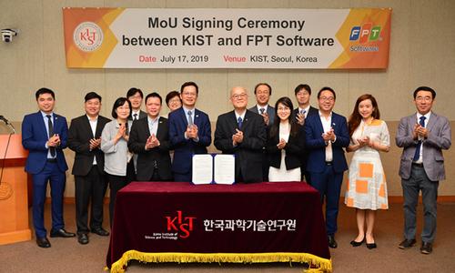 FPT Software ký MoU với Viện Khoa học và Công nghệ Hàn Quốc