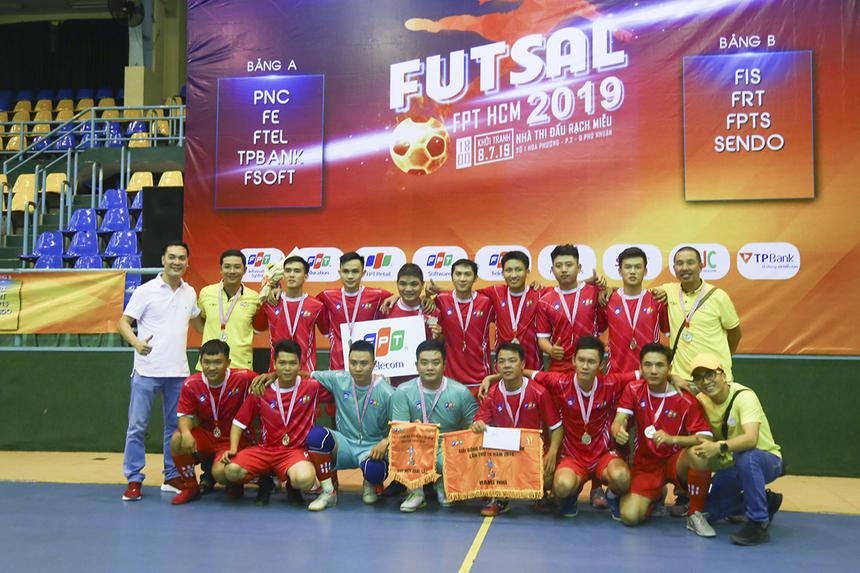 FPT Telecom kết thúc giải khi là đội ghi được nhiều bàn thắng nhất với 25 pha lập công.