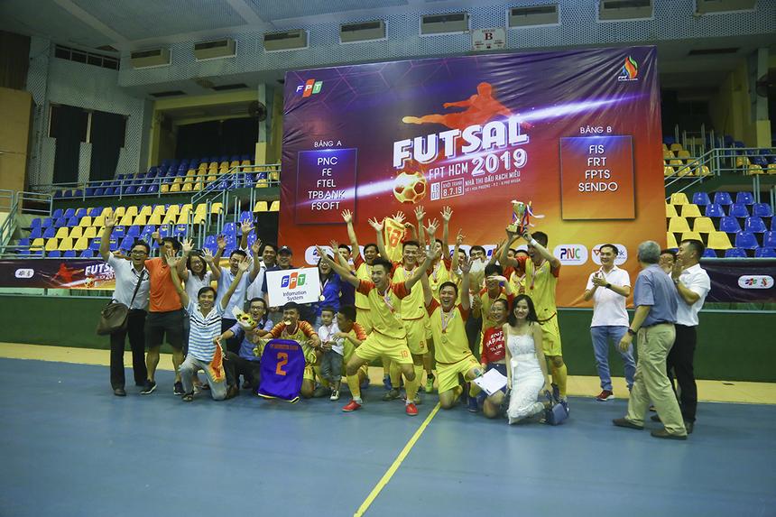 Sau 5 lần gần nhất lọt vào trận chung kết của giải (2014, 2015, 2016, 2017, 2019), FPT IS đã giành 3 chức vô địch (2015, 2017, 2019). Ở đúa trường futsal, FPT IS vẫn luôn là một thế lực đáng gớm của giải.