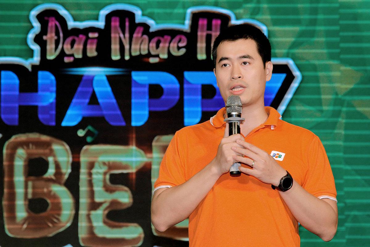 Giám đốc FPT Polytechnic - anh Vũ Chí Thành khẳng định sự kiện thể hiện được nét văn hóa đặc của nhà trường, đem lại sân chơi bổ ích cho sinh cũng như khán giả đam mê âm nhạc.