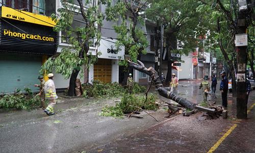 Người FPT tại tâm bão WIPHA an toàn sau gió giật cấp 12