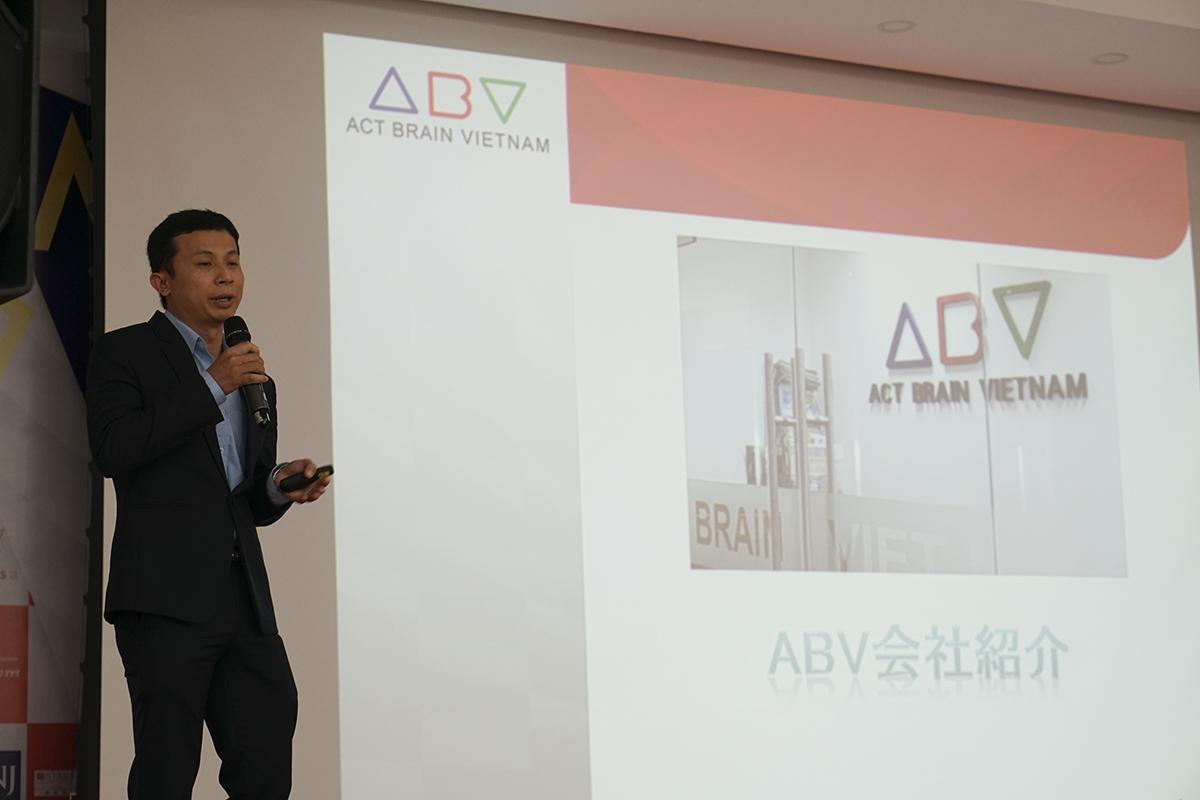 Chương trình còn có những màn chia sẻ hấp dẫn đến từ đại diện Công ty Cổ phần ACT Brain Vietnam, Khách sạn SevenSea Đà Nẵng và FPT Software