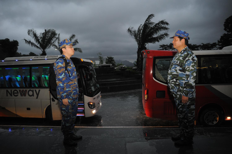 Rạng sáng ngày 3/5, khi cơn bão số 3 đang đổ bộ vào các tỉnh Đông Bắc Bộ, hơn 60 lãnh đạo cấp cao của tập đoàn cũng như các công ty thành viên đã hành quân đến tiểu đoàn 473 thuộc Lữ đoàn hải quân đánh bộ 147 (Quảng Yên, Quảng Ninh).