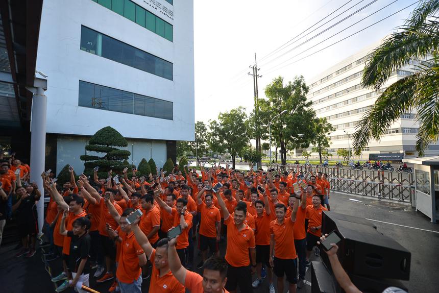Trước lễ khởi động, đã có 10.468 thành viên đăng ký tham gia trong đó có 9238 log in thành công. Đây là những con số thể hiện sự cam kết, hưởng ứng tích cực của người nhà 'Cáo', anh Hoàng Việt Anh phát biểu.