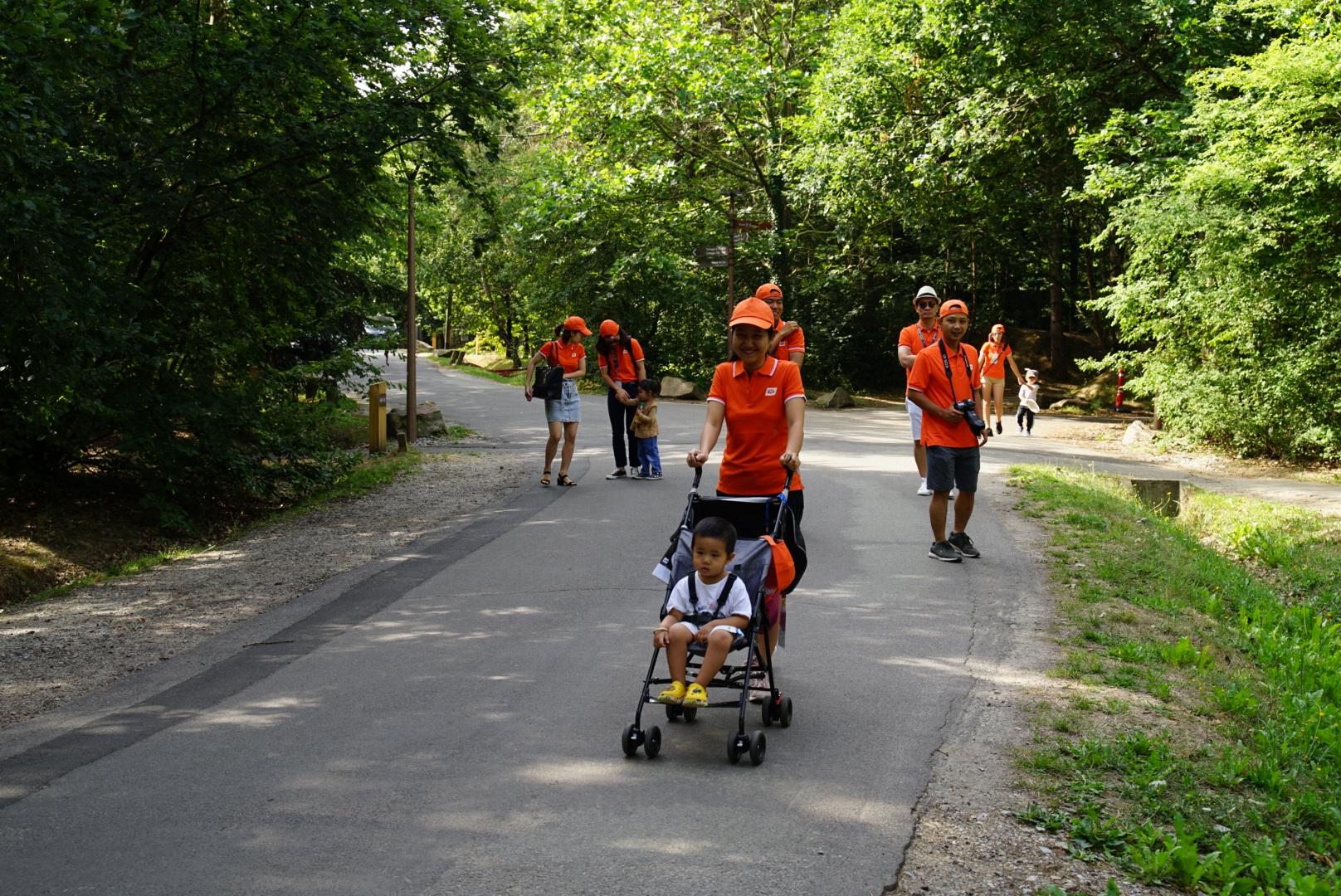 Chị Dương cho hay ở Pháp mọi người có thói quen đi bộ đi làm, mỗi ngày trung bình 3 km. Mùa hè các chuyến tàu bị hủy khá nhiều, việc đi bộ khá hữu dụng.