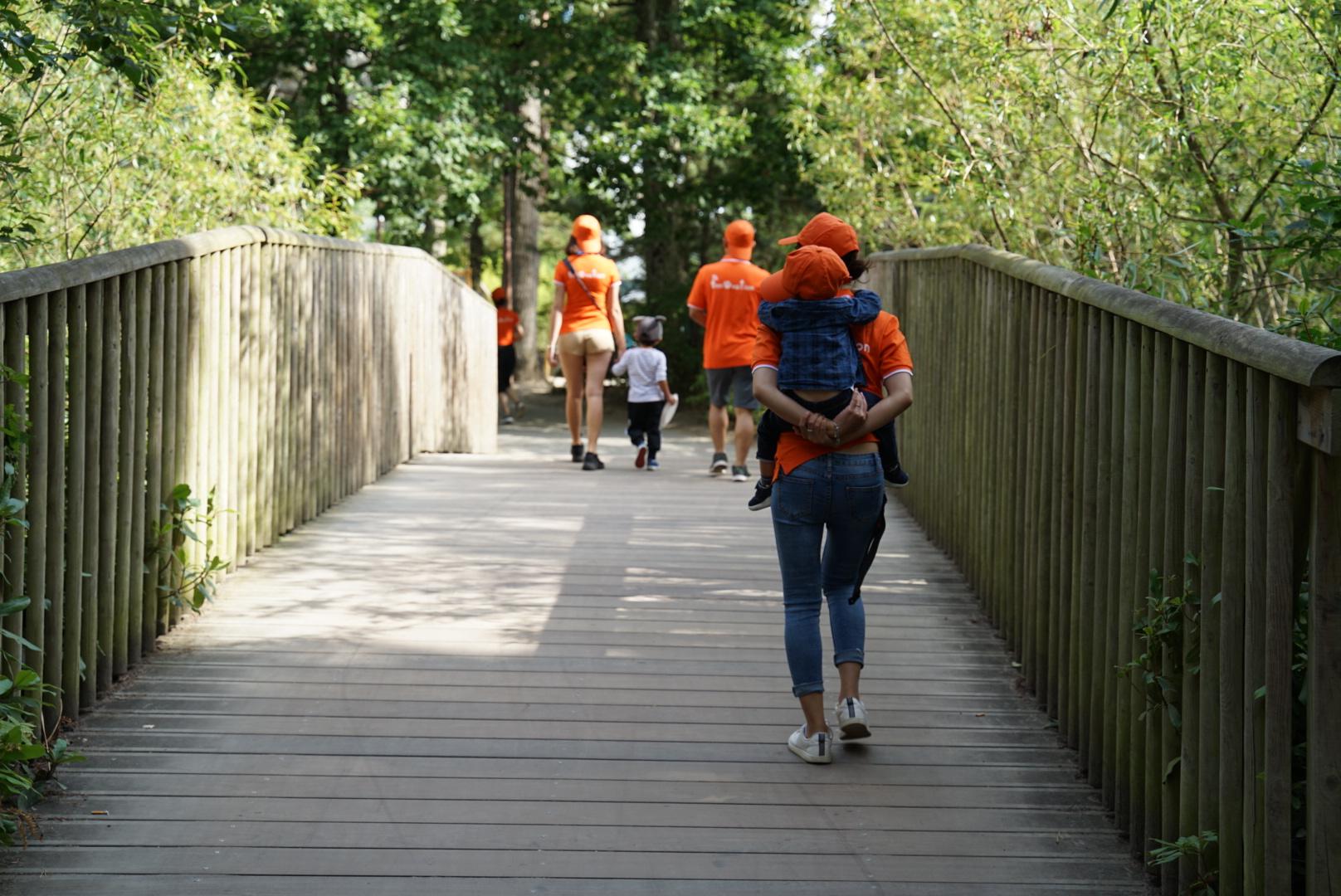 Về gần cuối, nhiều người chọn cách đi bộ để hoàn thành đường chạy.Sau khoảng 3 tiếng chạy bộ, người FPT Tại Pháp đã thực hiện tổng quãng đường 86 km.