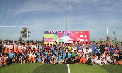 Phần mềm FPT mở hội với giải bóng đá Fantasy Four 2019