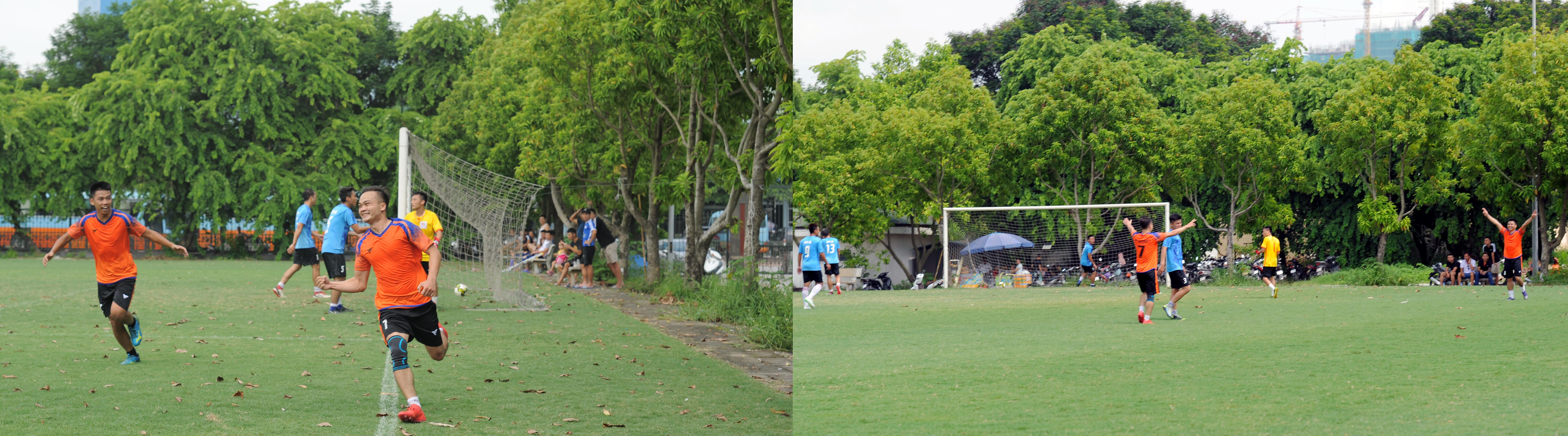 Các cầu thủ FPT Education đã tận dụng tốt sự lơ là khâu phòng ngự của đối phương, nhất là việc ra vào không hợp lý của thủ môn nên đã nhẹ nhàng ăn mừng chiến thắng với 2 bàn thắng được ghi ngay trong hiệp 1.