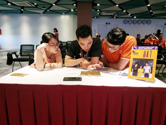 HKT là một trong 32 đội thi vào vòng 2.