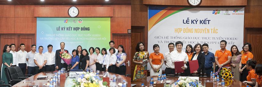 Trước đó, hệ thống VioEdu đã được đưa vào triển khai toàn diện ở trường Tiểu học và THCS FPT Cầu Giấy, trường liên cấp Tiểu học & THCS Ngôi Sao Hà Nội từ đầu năm học 2019-2020.